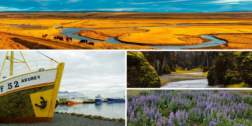 Iceland seasons