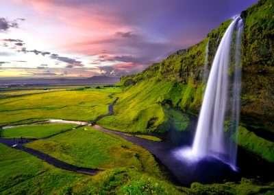 Seljalandsfoss, south coast, Iceland