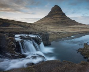 Kirkjufell waterfalls, Snæfellsnes peninsula, Iceland