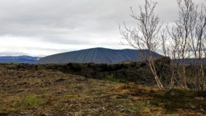 Volcanic cinder cone, Iceland