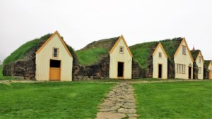 Traditional turf houses, Iceland