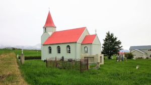 Icelandic church in the countryside