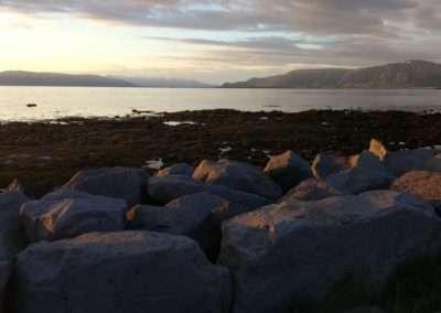 Reykjavík coastal view, Iceland