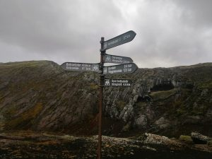 Signpost, Iceland